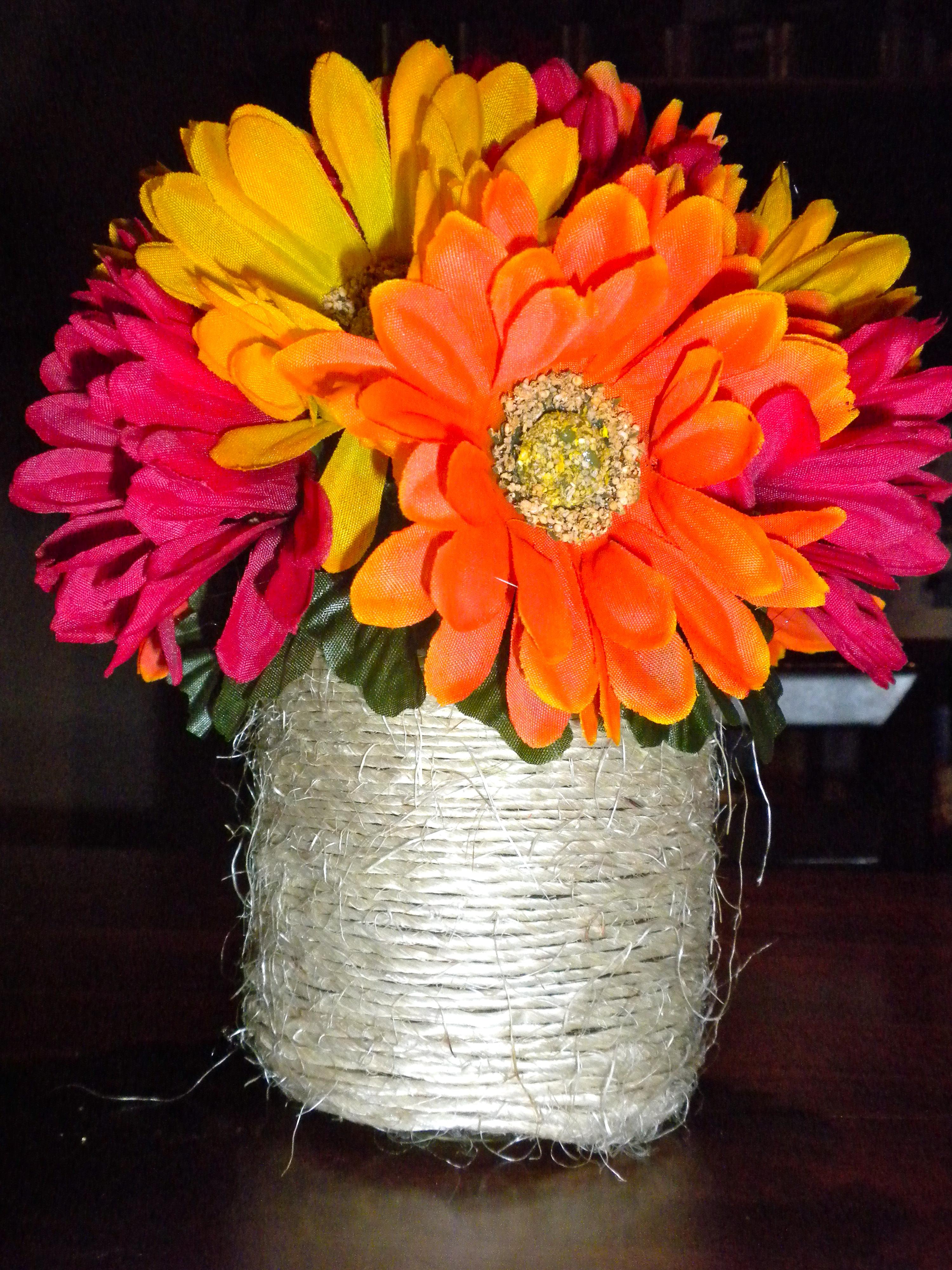 Cheap easy flower centerpiece theblondelawyer see izmirmasajfo