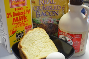 Maple Bacon French Toast: Ingredients