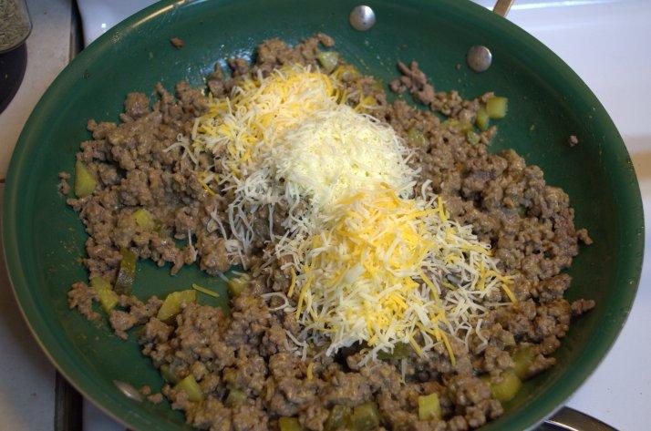 Cheeseburger Tot Casserole